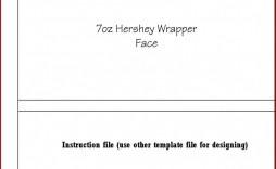 003 Singular Free Chocolate Bar Wrapper Template Word Idea  For