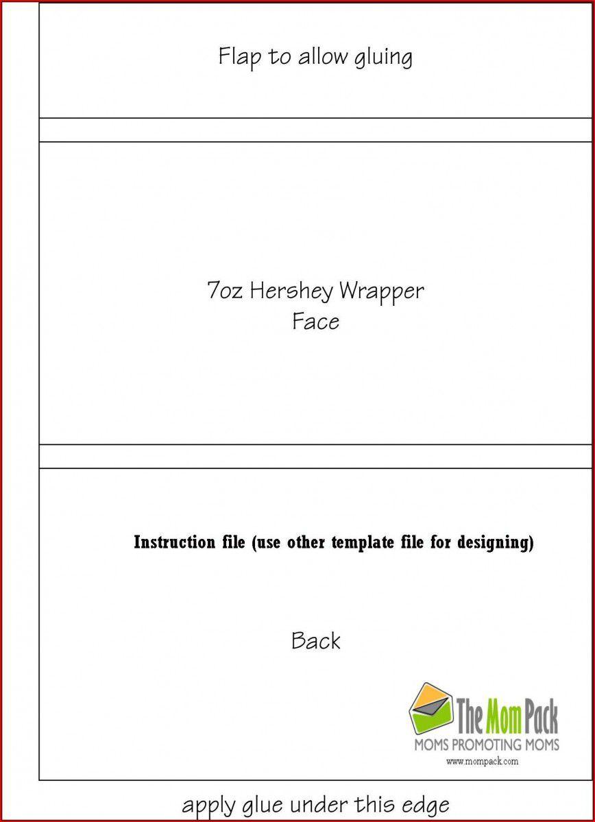003 Singular Free Chocolate Bar Wrapper Template Word Idea  ForFull