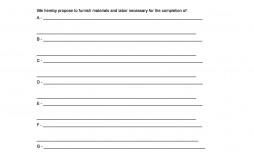 003 Singular Free Construction Proposal Template High Def  Bid Contractor Word