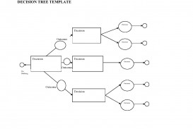 003 Singular Free Decision Tree Template In Word Or Excel Photo