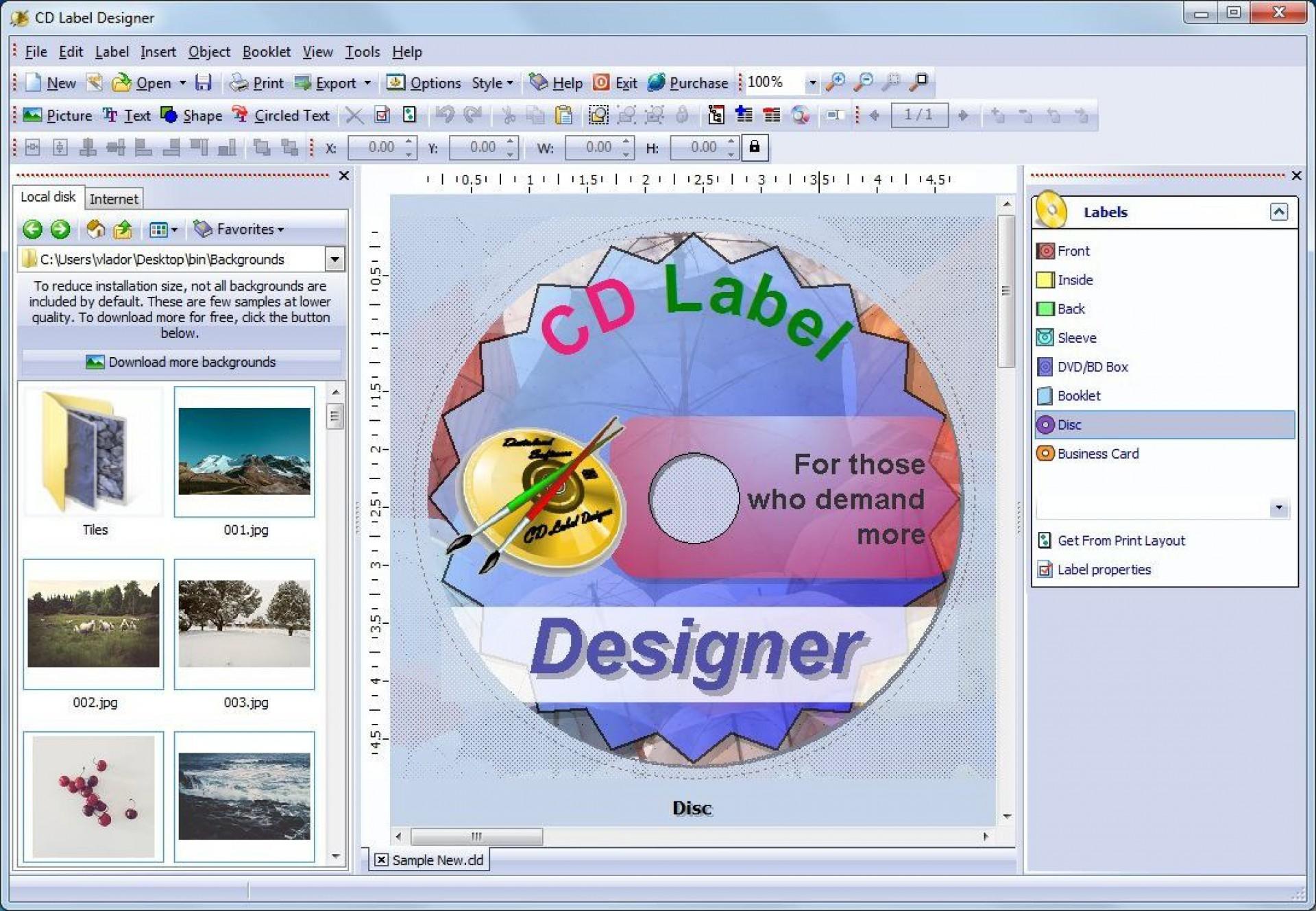 003 Singular Free Label Maker Template For Mac High Def 1920