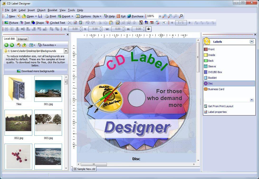 003 Singular Free Label Maker Template For Mac High Def Full