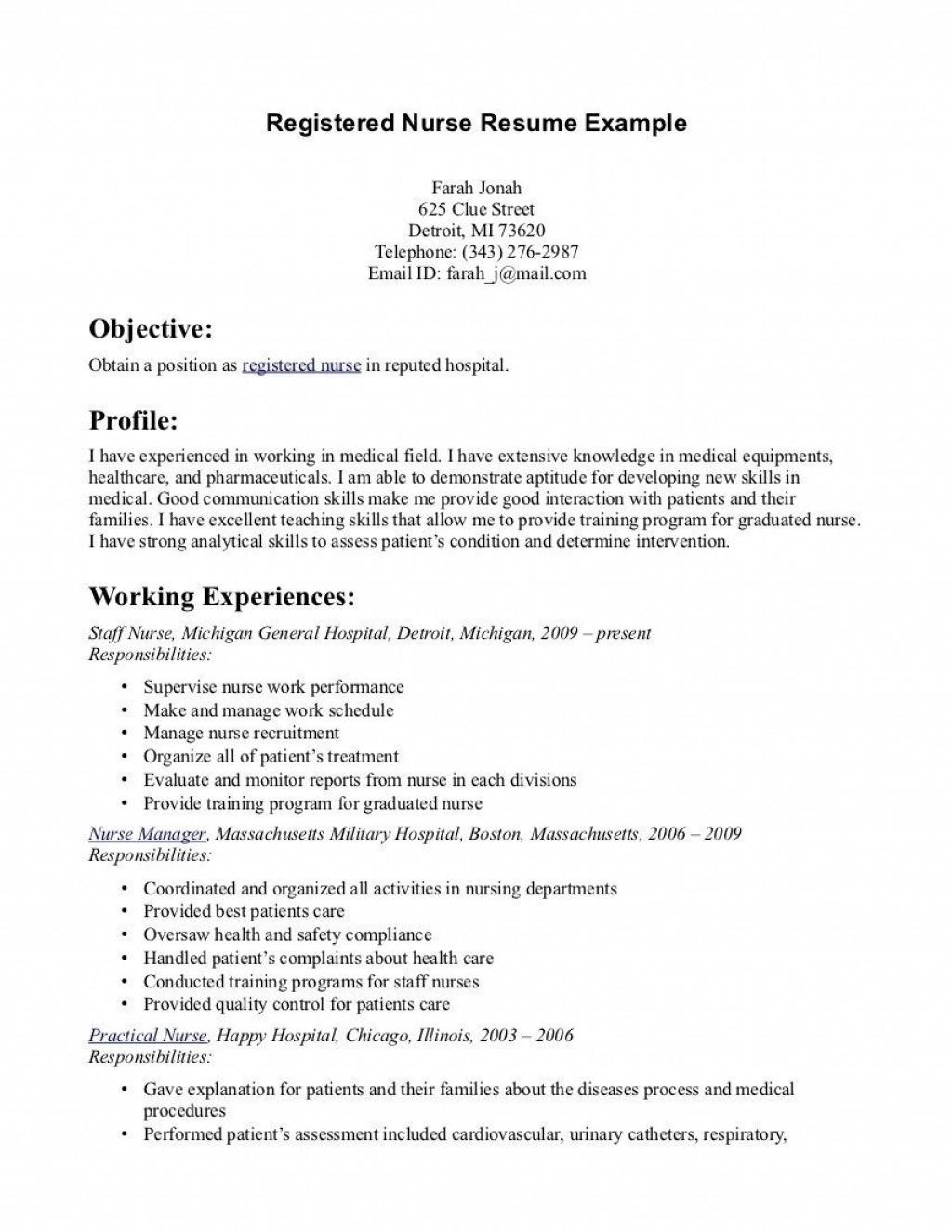 003 Singular Free Student Nurse Resume Template High Definition  TemplatesLarge