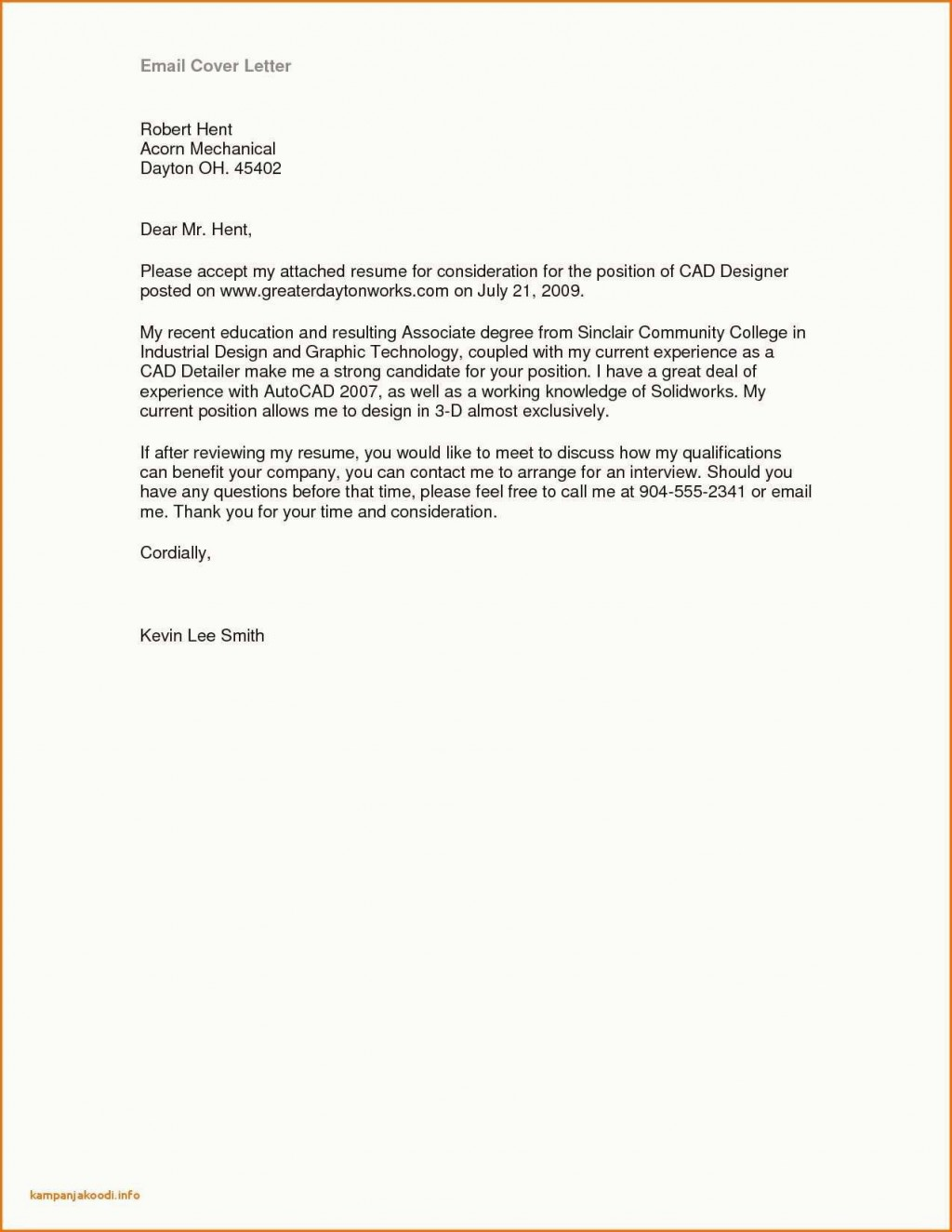 003 Singular Job Application Email Template Idea  Formal For Example Opportunitie SubjectLarge