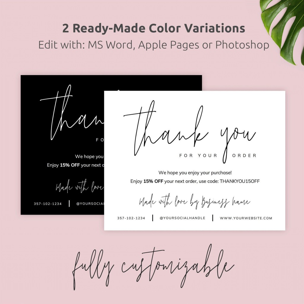 003 Singular M Word Thank You Note Template Inspiration  Microsoft Interview LetterLarge