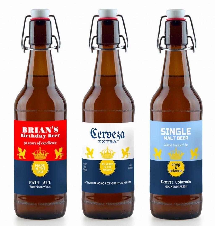 003 Staggering Beer Bottle Label Template Highest Quality  Free Dimension WordLarge