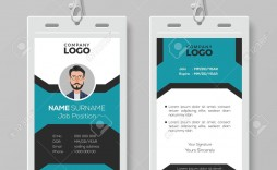 003 Staggering Employee Id Card Template Example  Free Download Psd Word