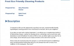 003 Staggering Free Cleaning Proposal Template High Definition  Office Bid Pdf Busines For Service