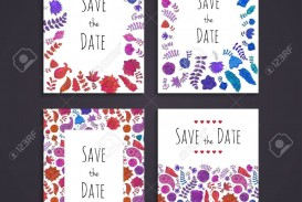 003 Staggering Free Save The Date Birthday Postcard Template High Def