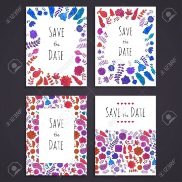 003 Staggering Free Save The Date Birthday Postcard Template High Def 360