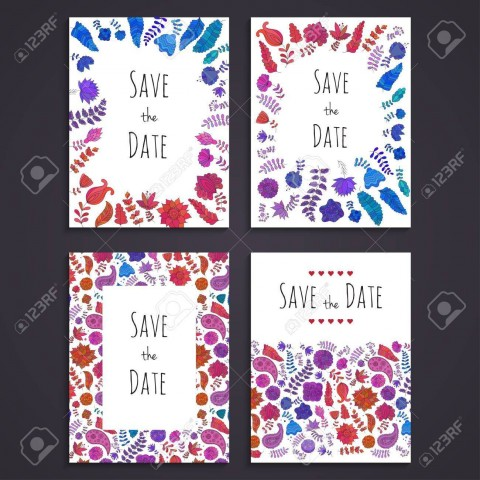 003 Staggering Free Save The Date Birthday Postcard Template High Def 480