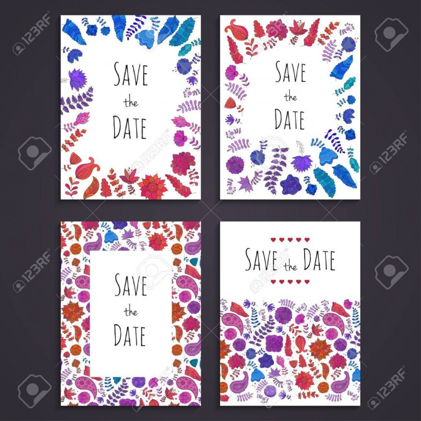 003 Staggering Free Save The Date Birthday Postcard Template High Def 868