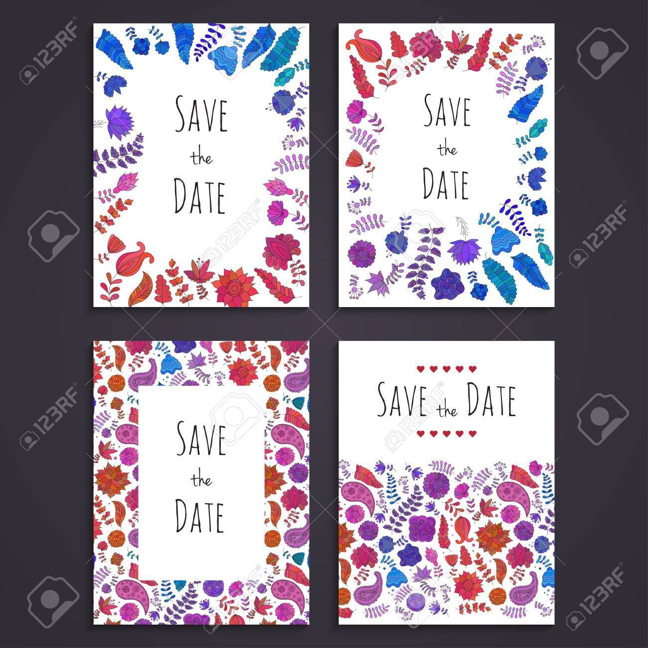 003 Staggering Free Save The Date Birthday Postcard Template High Def Full