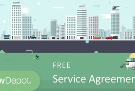 003 Staggering Free Service Contract Template Idea  Cleaning Lawn