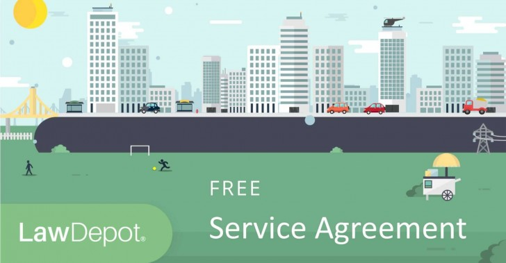 003 Staggering Free Service Contract Template Idea  Cleaning Lawn728