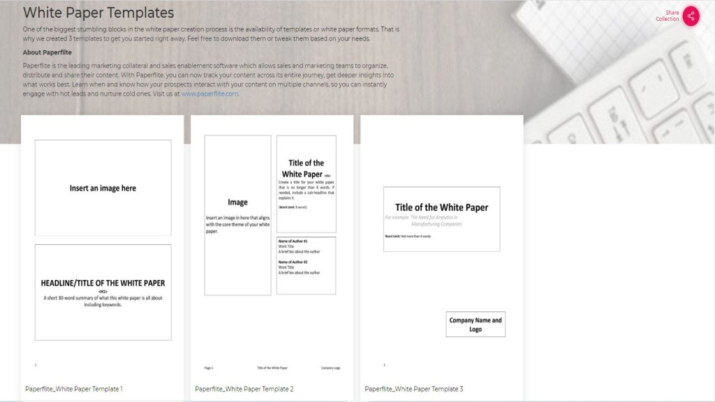 003 Staggering Free White Paper Template Example  Word 2016 Indesign MicrosoftLarge