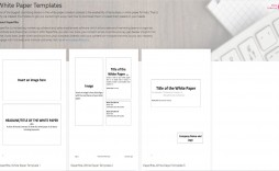 003 Staggering Free White Paper Template Example  Word 2016 Microsoft Indesign