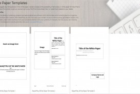003 Staggering Free White Paper Template Example  Word 2016 Indesign Microsoft
