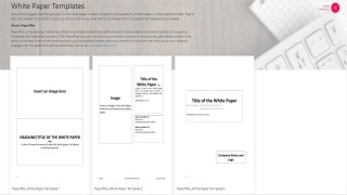 003 Staggering Free White Paper Template Example  Word 2016 Indesign Microsoft320