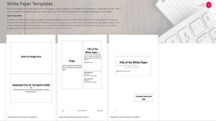 003 Staggering Free White Paper Template Example  Word 2016 Indesign Microsoft728