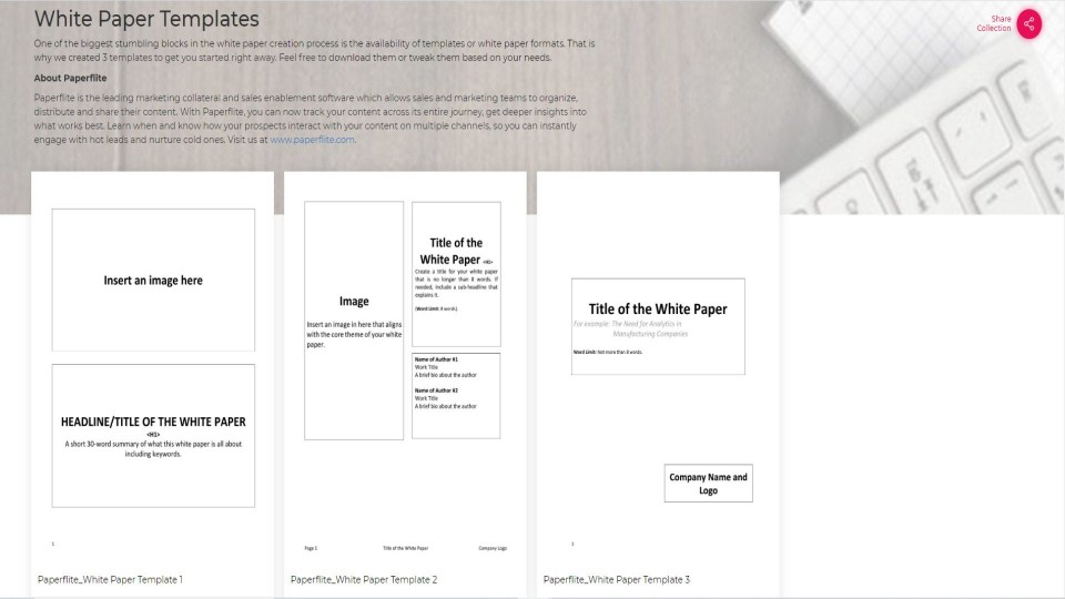 003 Staggering Free White Paper Template Example  Word 2016 Indesign Microsoft960