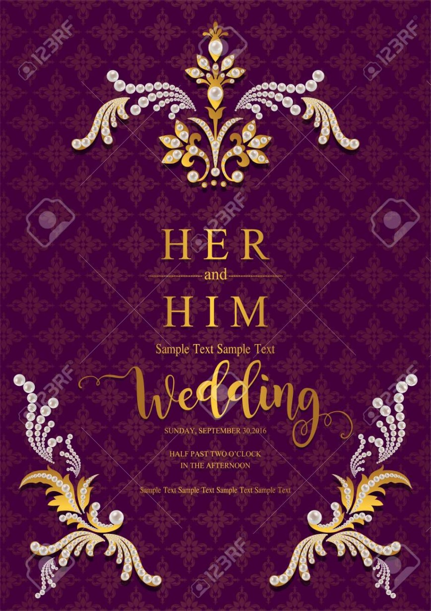 003 Staggering Indian Wedding Invitation Template Picture  Psd Free Download Marriage Online For Friend868
