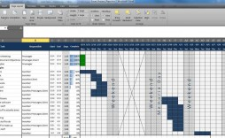 003 Staggering Multiple Project Tracking Template Xl Concept  Xls Spreadsheet Excel