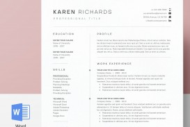 003 Staggering One Page Resume Template Picture  Word Free For Fresher Ppt Download Html