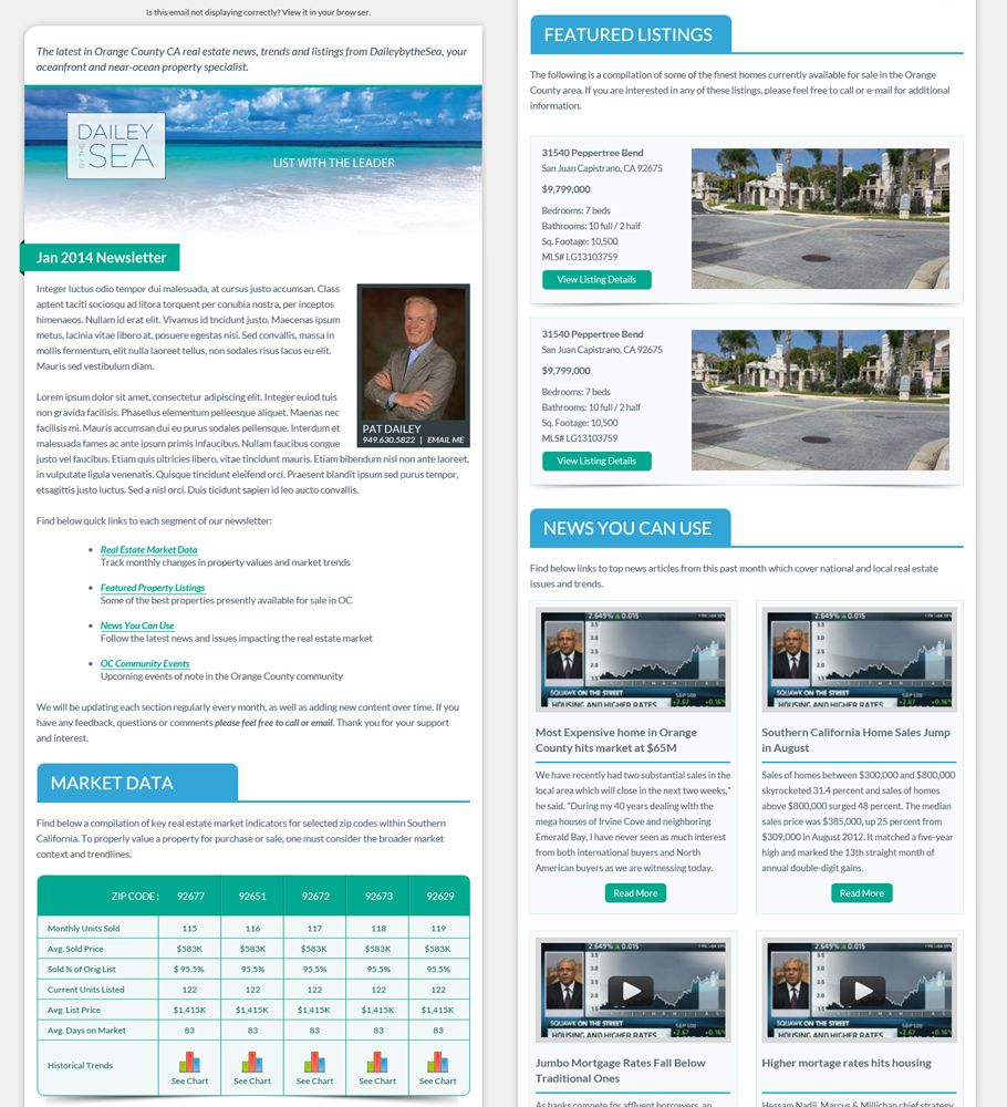 003 Staggering Real Estate Newsletter Template Idea  Templates Free Printable BestFull