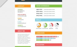 003 Staggering Resume Template Word 2007 Free Concept  Microsoft Office For M