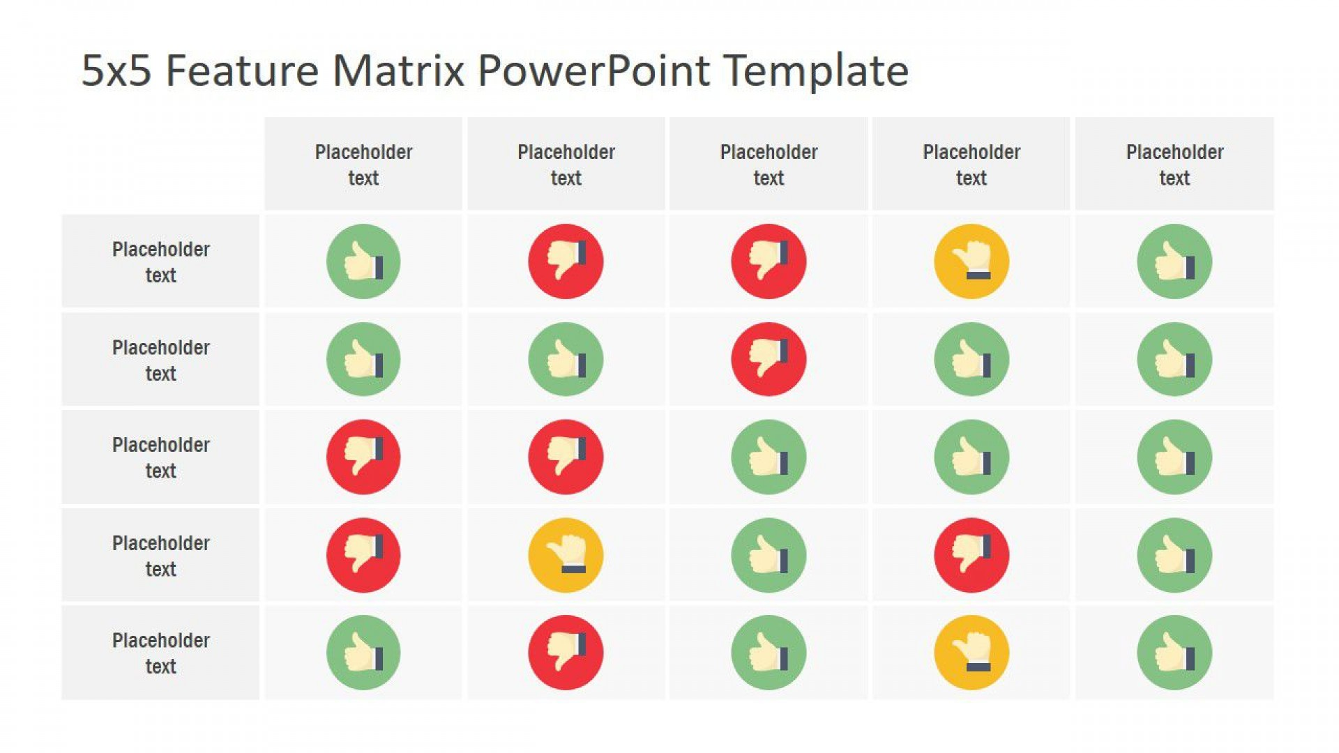 003 Staggering Role And Responsibilitie Matrix Template Powerpoint High Definition 1920