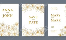 003 Staggering Save The Date Flyer Template Image  Free Event Sample