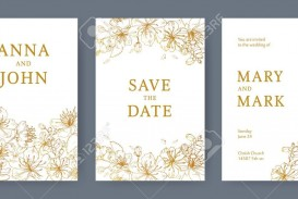 003 Staggering Save The Date Flyer Template Image  Word Event
