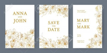 003 Staggering Save The Date Flyer Template Image  Word Event360