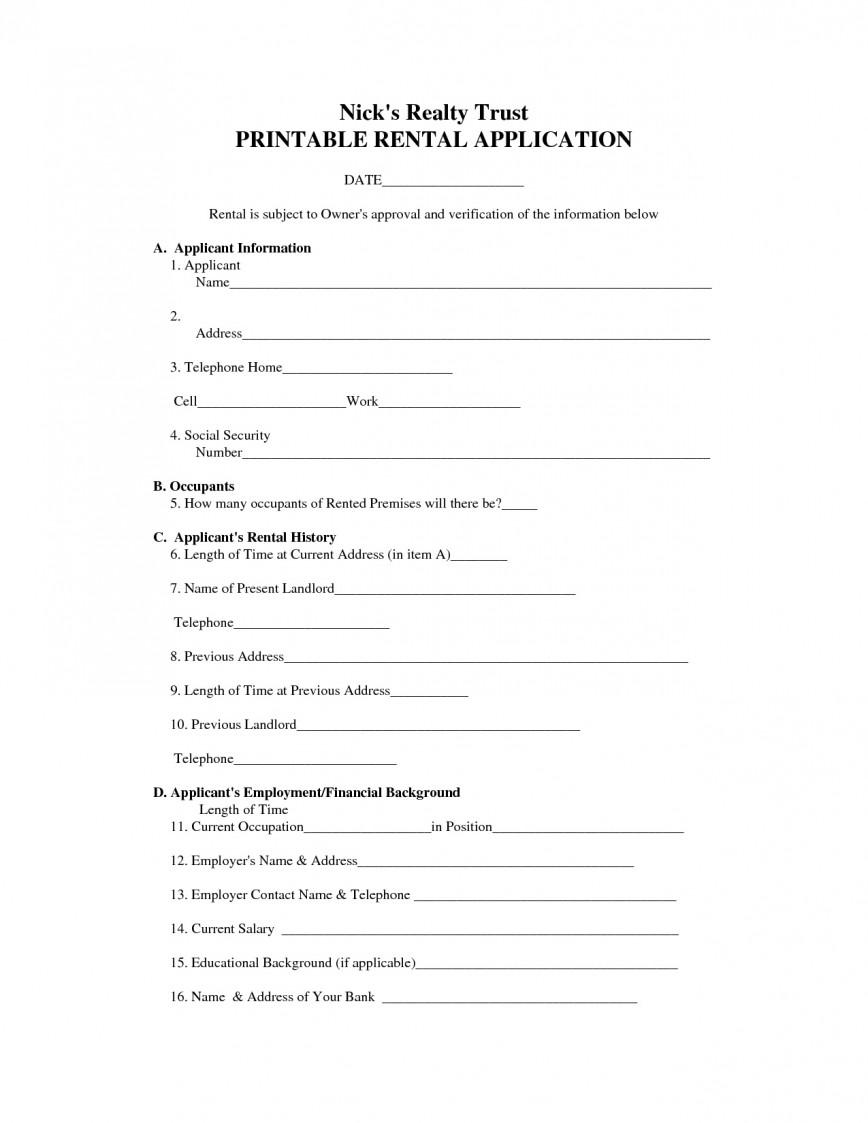 003 Stirring Basic Rental Agreement Template Example  Simple Word Tenancy Free868