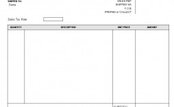 003 Stirring Blank Invoice Template Excel Image  Free Download Receipt