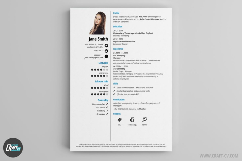 003 Stirring Create Resume Online Free Template Picture 960