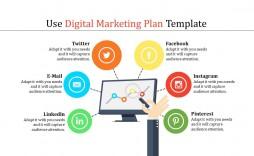 003 Stirring Digital Marketing Plan Template High Def  .xl Doc