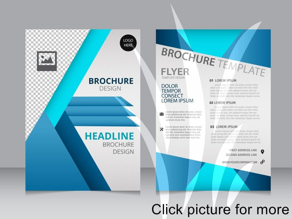 003 Stirring Free Brochure Template For Word Idea  Microsoft 2007 Downloadable Tri FoldLarge