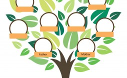 003 Stirring Free Editable Family Tree Template Design  Templates Pdf Powerpoint With Photo