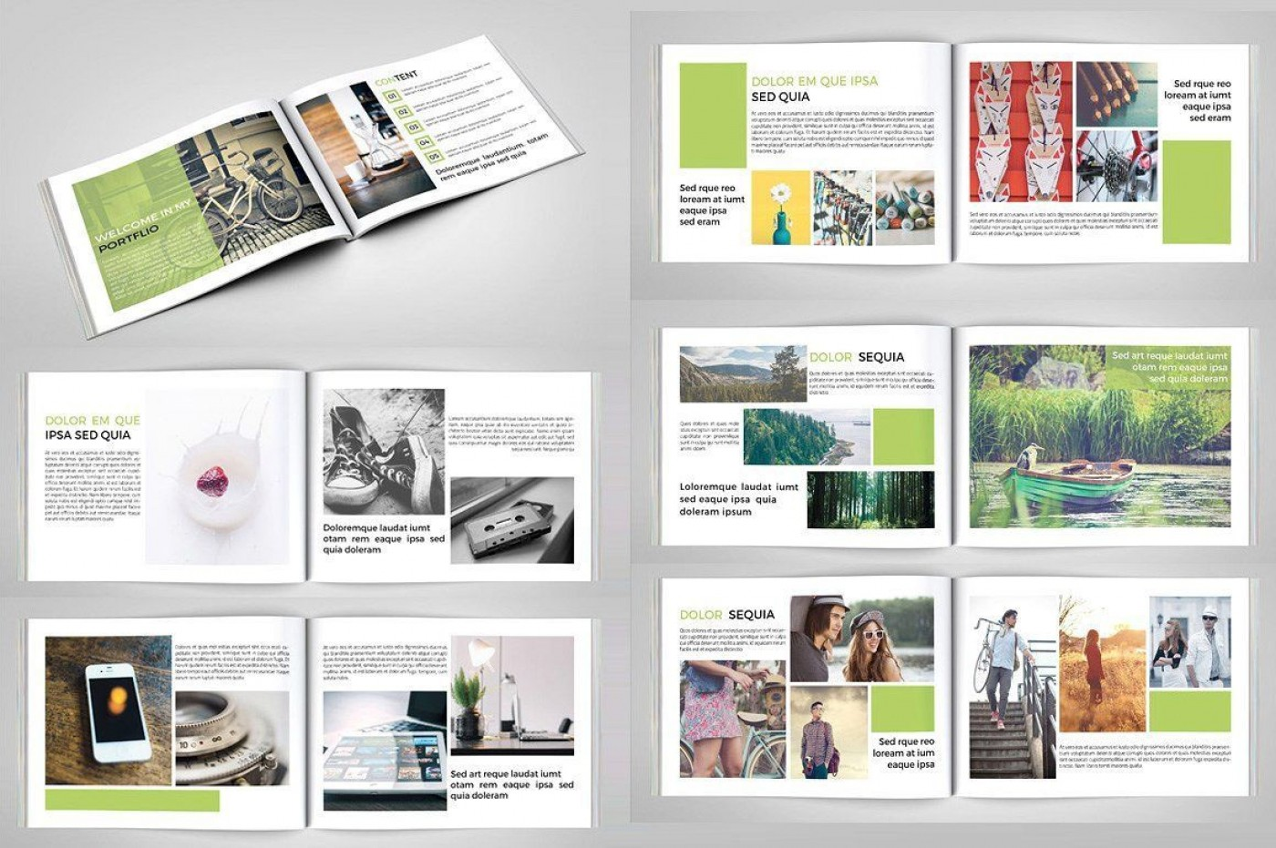 003 Stirring In Design Portfolio Template Highest Quality  Free Indesign A3 Photography Graphic Download1400