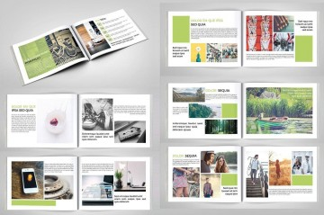 003 Stirring In Design Portfolio Template Highest Quality  Free Indesign A3 Photography Graphic Download360