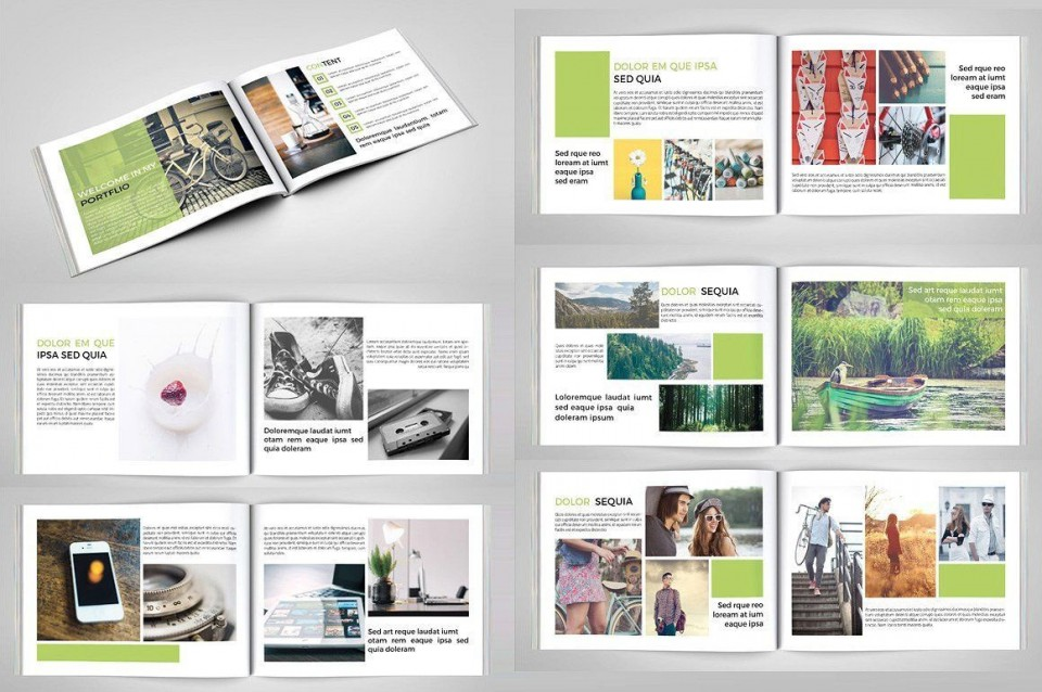 003 Stirring In Design Portfolio Template Highest Quality  Free Indesign A3 Photography Graphic Download960