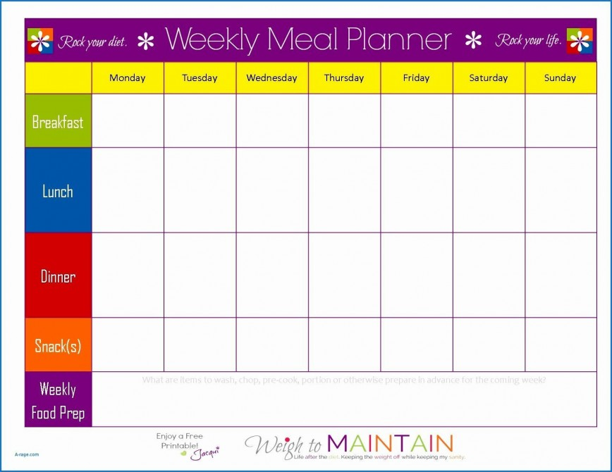 003 Stirring Meal Plan Template Excel Photo  Sheet Weekly
