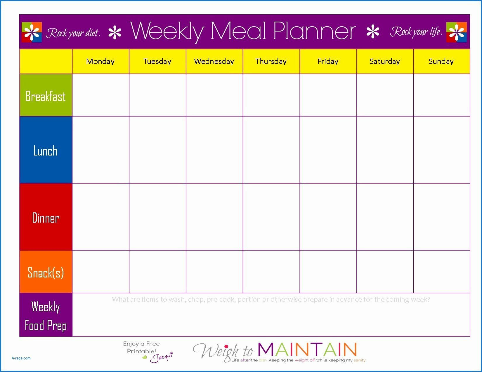 003 Stirring Meal Plan Template Excel Photo  Monthly MacroFull