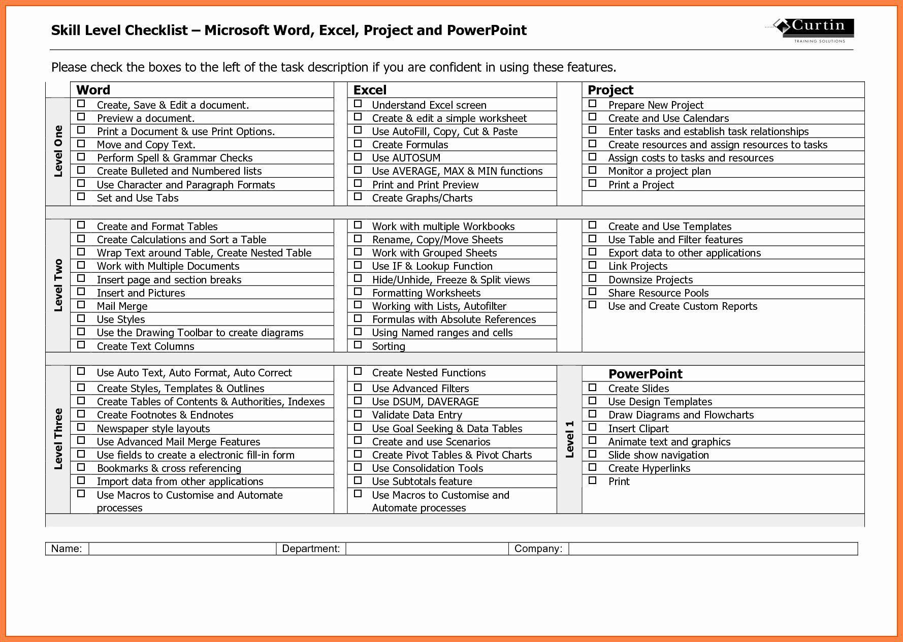 003 Stirring Microsoft Office Check Template High Definition  Checklist Register MFull