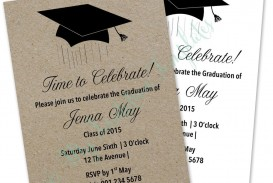 003 Stirring Microsoft Word Graduation Party Invitation Template High Definition