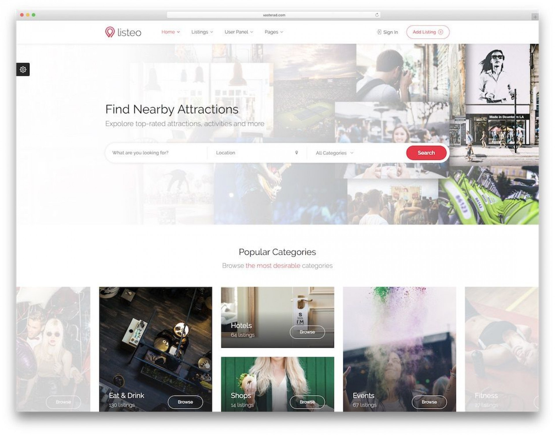 003 Stirring Mobile Friendly Web Template Photo  Templates Free Page1920