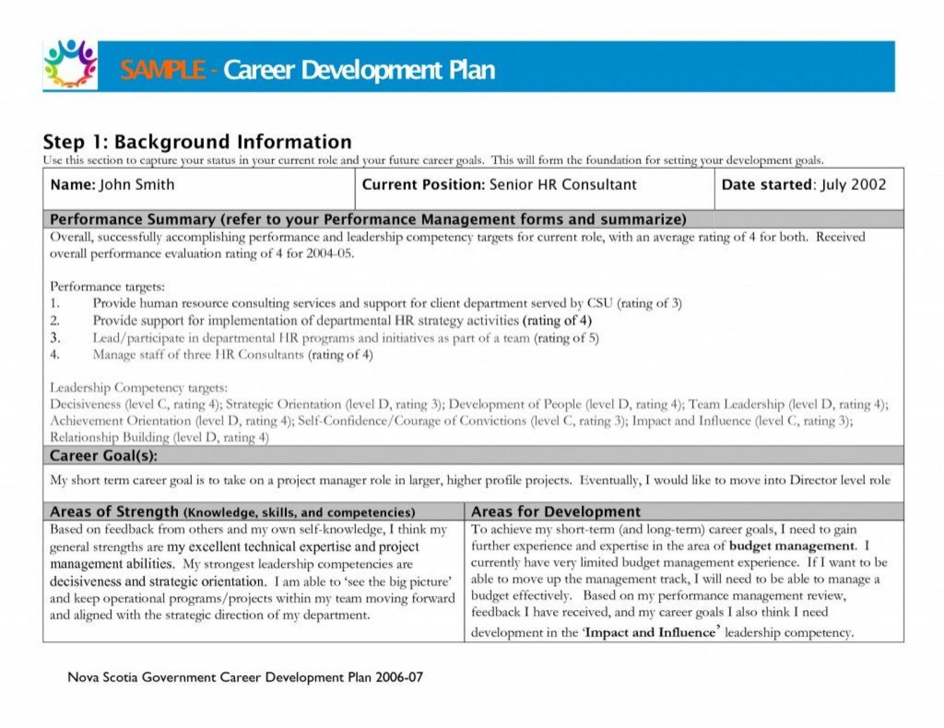 003 Stirring Professional Development Plan Template For Nurse Sample  Nurses Goal Example1920
