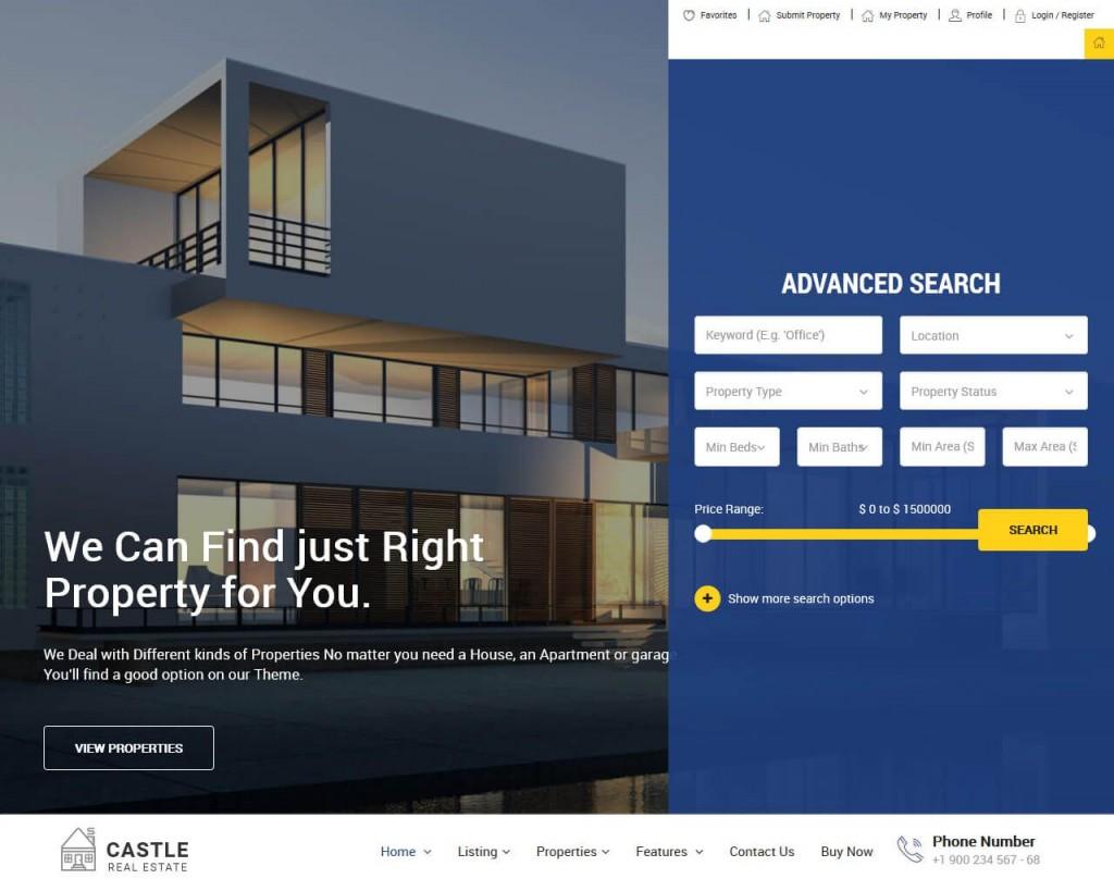 003 Stirring Real Estate Website Template Photo  Templates Bootstrap Free Html5 Best WordpresLarge